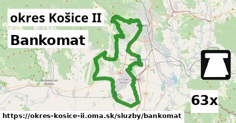 bankomat v okres Košice II