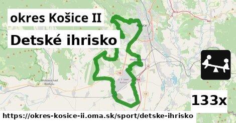 detské ihrisko v okres Košice II