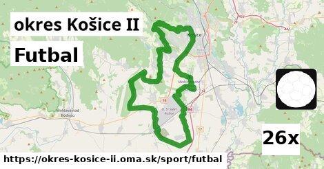 futbal v okres Košice II