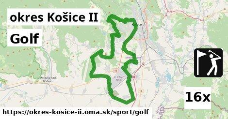 golf v okres Košice II