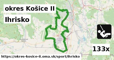 ihrisko v okres Košice II