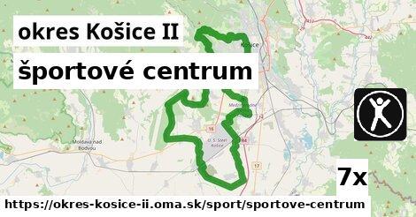 športové centrum v okres Košice II