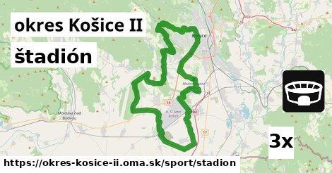 štadión v okres Košice II