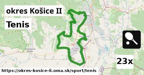 tenis v okres Košice II