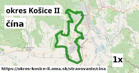 ilustračný obrázok k čína, okres Košice II