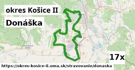ilustračný obrázok k Donáška, okres Košice II