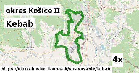 ilustračný obrázok k Kebab, okres Košice II