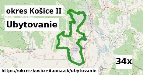 ubytovanie v okres Košice II