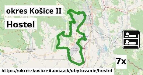 hostel v okres Košice II