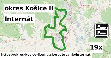 internát v okres Košice II