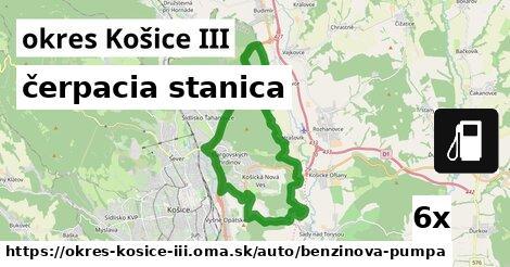 ilustračný obrázok k čerpacia stanica, okres Košice III