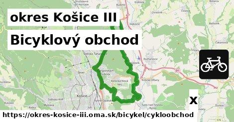 ilustračný obrázok k Bicyklový obchod, okres Košice III