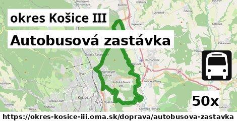 ilustračný obrázok k Autobusová zastávka, okres Košice III