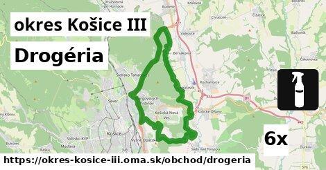 ilustračný obrázok k Drogéria, okres Košice III