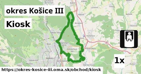 ilustračný obrázok k Kiosk, okres Košice III