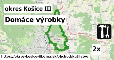 ilustračný obrázok k Domáce výrobky, okres Košice III