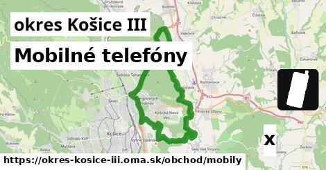 ilustračný obrázok k Mobilné telefóny, okres Košice III