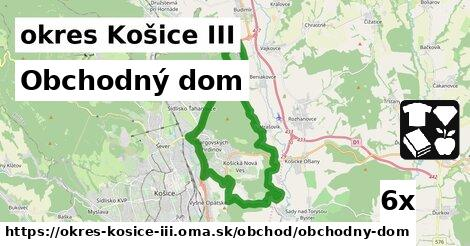 ilustračný obrázok k Obchodný dom, okres Košice III