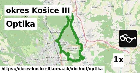 ilustračný obrázok k Optika, okres Košice III