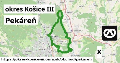 ilustračný obrázok k Pekáreň, okres Košice III