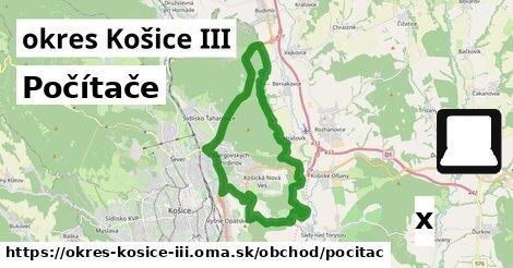 ilustračný obrázok k Počítače, okres Košice III