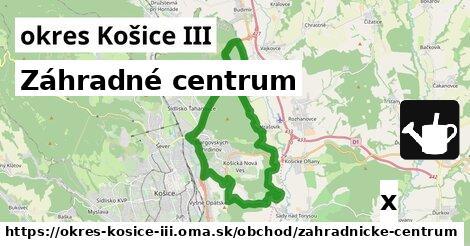 ilustračný obrázok k Záhradné centrum, okres Košice III