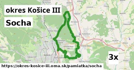 ilustračný obrázok k Socha, okres Košice III
