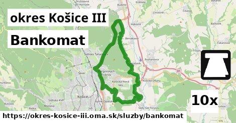 ilustračný obrázok k Bankomat, okres Košice III