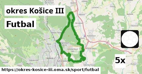 ilustračný obrázok k Futbal, okres Košice III