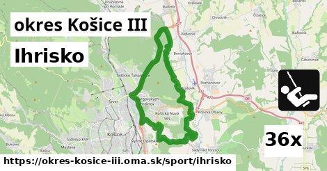 ilustračný obrázok k Ihrisko, okres Košice III