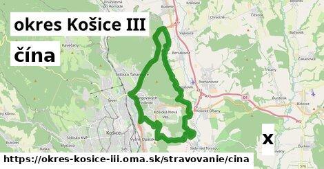 ilustračný obrázok k čína, okres Košice III