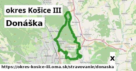 ilustračný obrázok k Donáška, okres Košice III