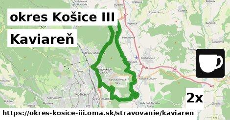 ilustračný obrázok k Kaviareň, okres Košice III
