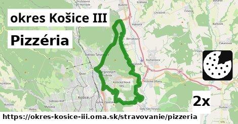 ilustračný obrázok k Pizzéria, okres Košice III