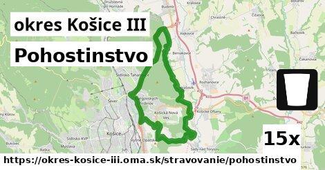 ilustračný obrázok k Pohostinstvo, okres Košice III