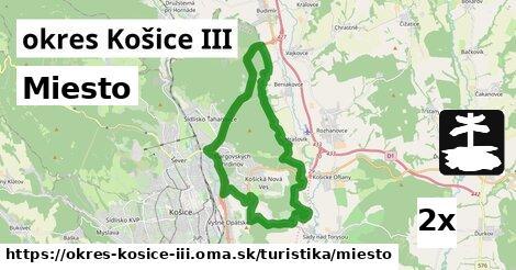 ilustračný obrázok k Miesto, okres Košice III