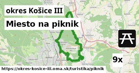 ilustračný obrázok k Miesto na piknik, okres Košice III