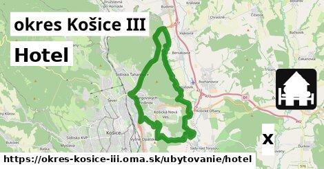 ilustračný obrázok k Hotel, okres Košice III