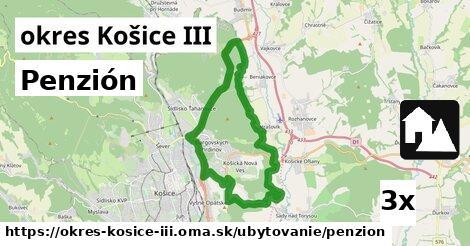 ilustračný obrázok k Penzión, okres Košice III