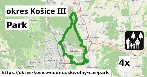 ilustračný obrázok k Park, okres Košice III