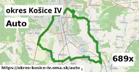 auto v okres Košice IV
