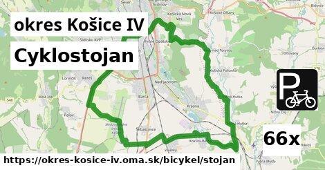 ilustračný obrázok k Cyklostojan, okres Košice IV
