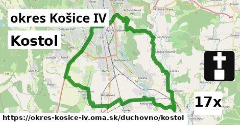 ilustračný obrázok k Kostol, okres Košice IV