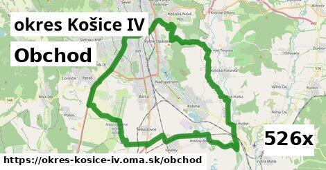obchod v okres Košice IV