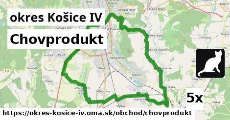 chovprodukt v okres Košice IV
