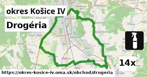 drogéria v okres Košice IV