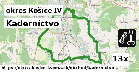 kaderníctvo v okres Košice IV