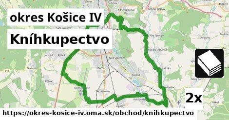 kníhkupectvo v okres Košice IV