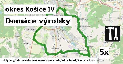 domáce výrobky v okres Košice IV