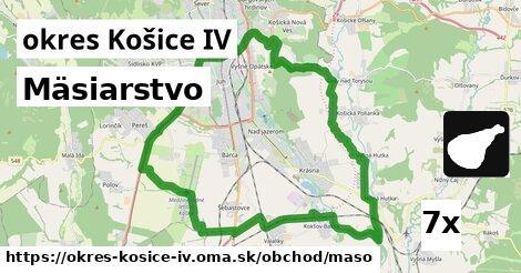 mäsiarstvo v okres Košice IV